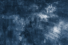 Blue Concrete Textured Wall