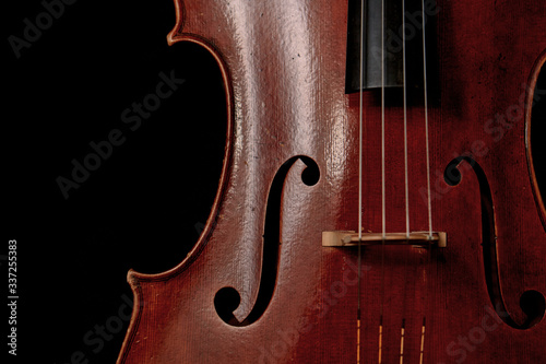 Fotografie, Obraz Close up of cello