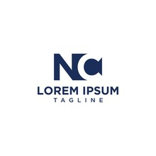 NC Negative Space Logo