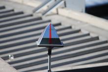 A Reflective Pyramid Shape Met...