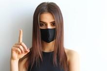 Girl In A Mask Virus