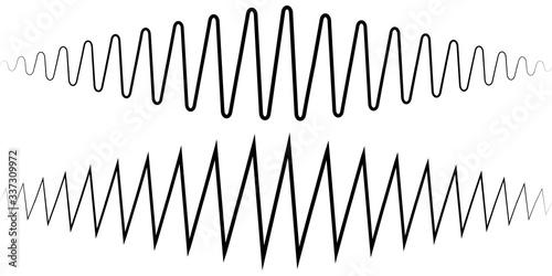 Photo Audio sound wave