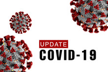 Covid-19 Update Background Wit...