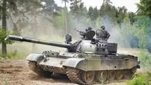 T54, ćwiczenia, Czołg, Radzi...