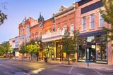 Provo, Utah, USA downtown on Center Street