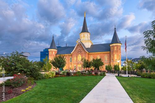 Provo, Utah, USA at Provo City Center Temple Fototapet