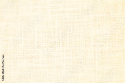 Obraz Natural linen material textile canvas texture background - fototapety do salonu