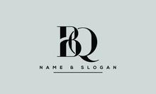 BQ ,QB ,B ,Q  Letter Logo Desi...