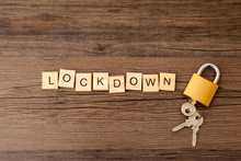 The Word 'lockdown' With A Clo...
