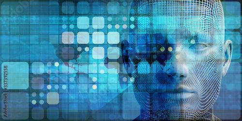 Obraz na plátně Disruptive Technologies