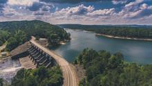 Broken Bow Dam Oklahoma Drone