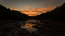 Broken Bow Oklahoma Sunrise Dam
