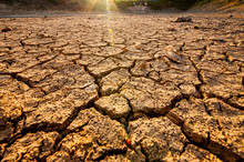 Dry Cracked Earth. And Global ...