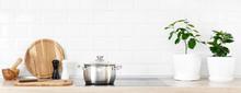 White Modern Kitchen Interior ...