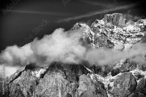 Fototapety, obrazy: Scenic View Of Mountain Against Sky