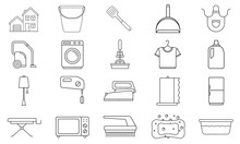 Household Elements Icon Pack, ...