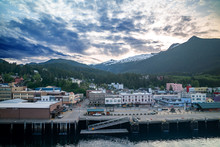 Summer Tongass Ketchikan Alaska Port