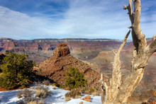 Grand Canyon South Rim In Wint...