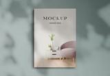 Realistic 3D Magazine Mockup - 337449190