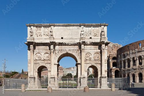 Fotografie, Obraz The Arch of Constantine (Arco di Costantino)