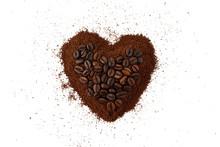 Close-up Of Heart Shape Made F...