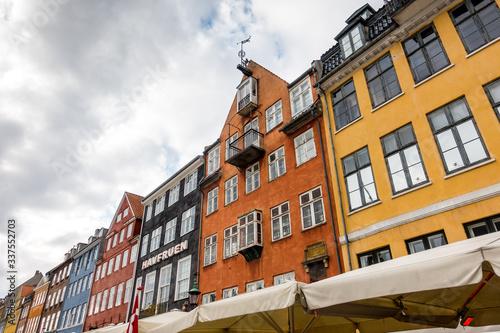 Beautiful Copenhagen architecture, travel around Copenhagen Canvas Print