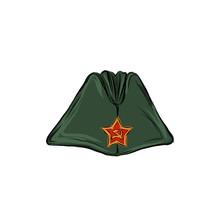 Cap Of The Soldier. Headdress ...