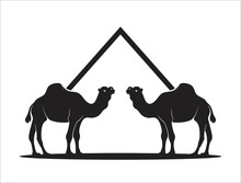 Camel Icon Isolated Sign Symbo...