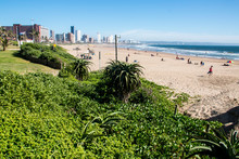 View Of Durban's Golden Mile W...