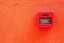 Fire Break Switch On The Red W...