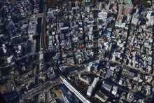 The View Of Cityscape In Tokyo, Japan