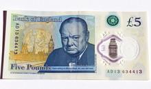 Pieniądze Waluta Banknoty Funty Brytyjskie