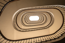 Looking Up At The Spiral Stair...