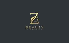 Letter Z Beauty Face Logo Design