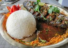 A Set Of Thakali Food