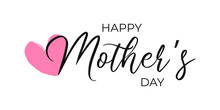 Happy Mother`s Day Vector Type...