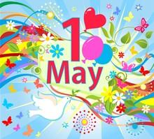 1 May International Labor Day....
