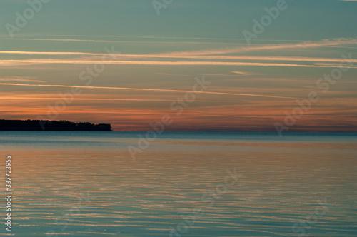 sunrise, gloucester Fototapeta