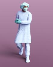 3d Rendering Of  Doctor Warrio...