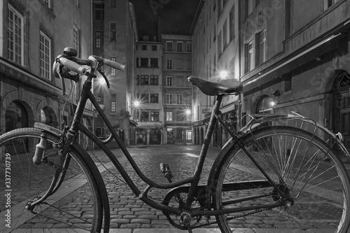 Plakaty rowery  lyon-miedzy-cieniem-a-swiatlem