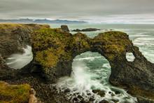 Acantilado En Islandia