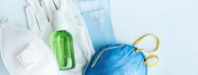 Antivirus Set Of Items: Variou...