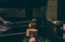 Close-up Of Ladles At Japanese...