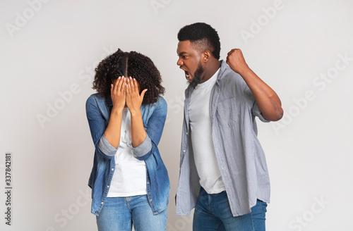 Fotografía Domestic violence