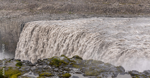 Cuadros en Lienzo Famous Dettifoss waterfall in the northern part of Iceland