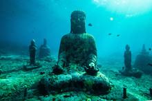 Buddha Statue Undersea