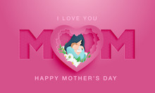 Happy Mother's Day Poster Or B...