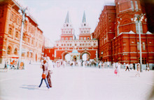 Resurrection Gate At Red Square