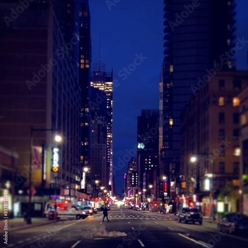 Photo New York City by Night