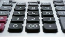 Calculator Button, Focus On Nu...